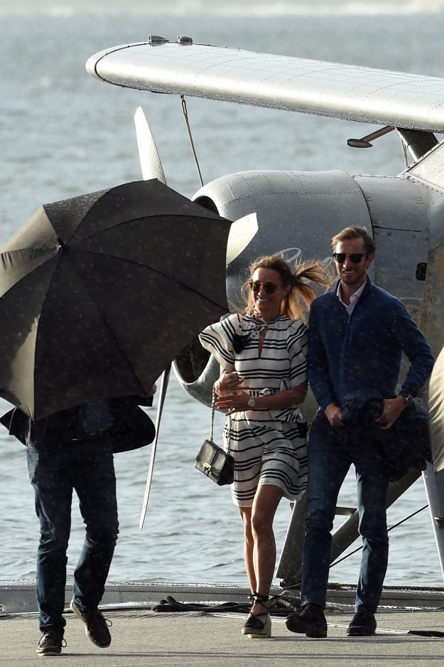 Pippa Middleton and husband James Matthews have spent a fortune on their honeymoon Getty