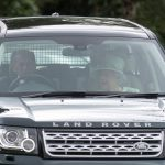 The royal couple could be seen chatting among themselves as they arrived at the event to watch granddaughter Lady Louise show off her carriage skills
