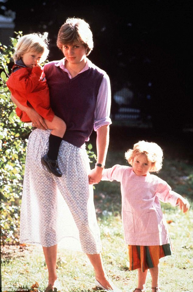 The sartorial nod comes after the iconic photo emerged on a late summer day in 1980 when Diana, then a nursery school assitant, posed for press photos