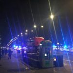There are also unconfirmed reports of a knife attack following the incident Photo C EXPRESS