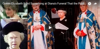 Unbelievable Queen Elizabeth II Did Something at Dianas Funeral That the Public Did Not See