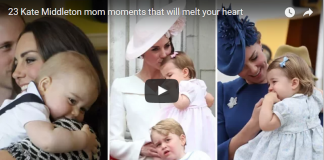 Video 23 Kate Middleton mom moments that will melt your heart