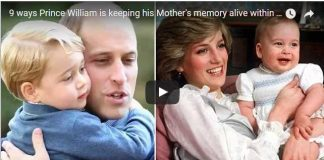 Video 9 ways Prince William is keeping his Mother's memory alive within his own family