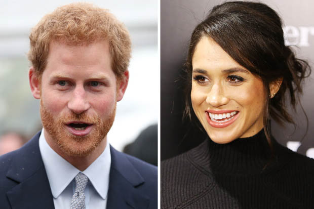 WHEELS Prince Harry has lined up a Mini as a birthday gift for Meghan Markle Photo (C) GETTY, FILM IMAGE