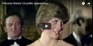 Watch Video of Princess Diana First Royal Engagement Entrance