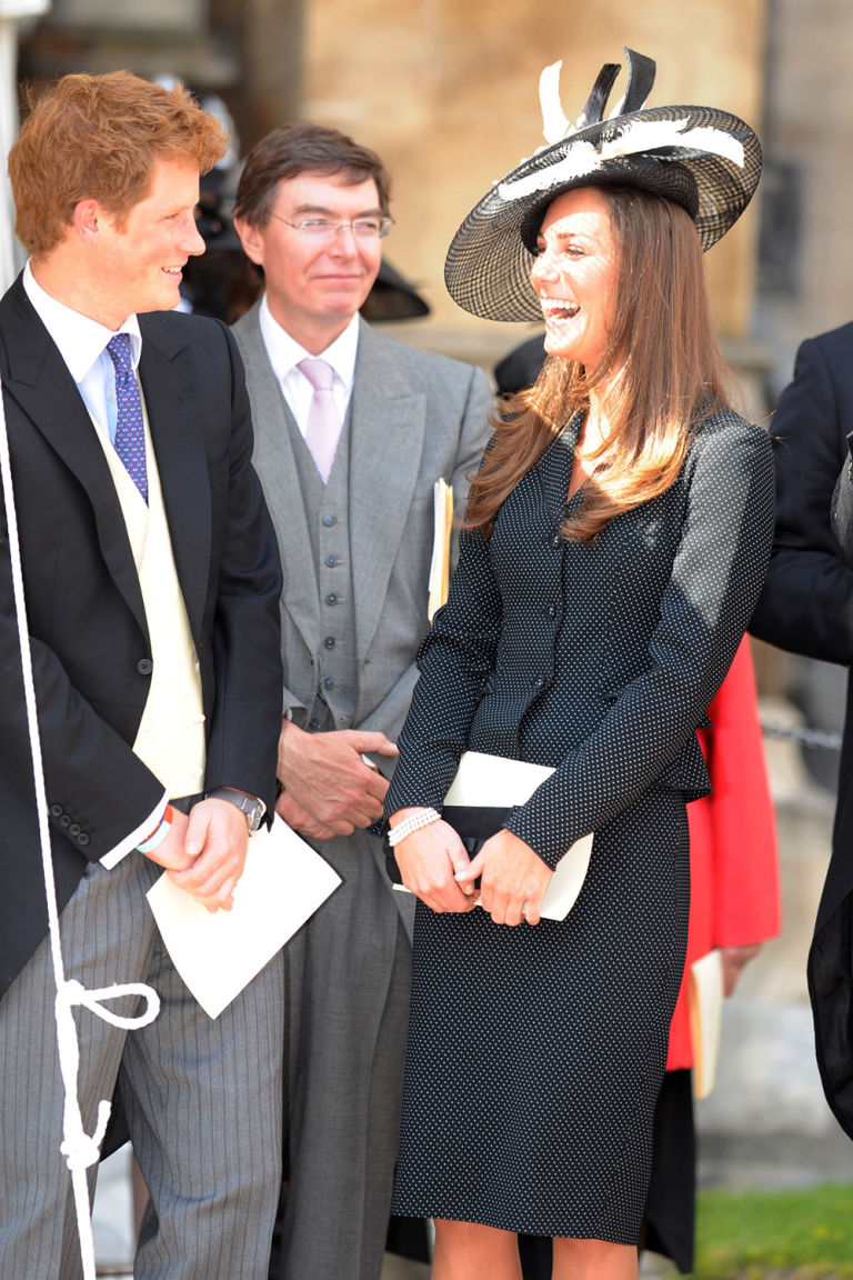 Watching the Order of the Garter at Windsor Castle in 2008. Photo (C) GETTY IMAGES
