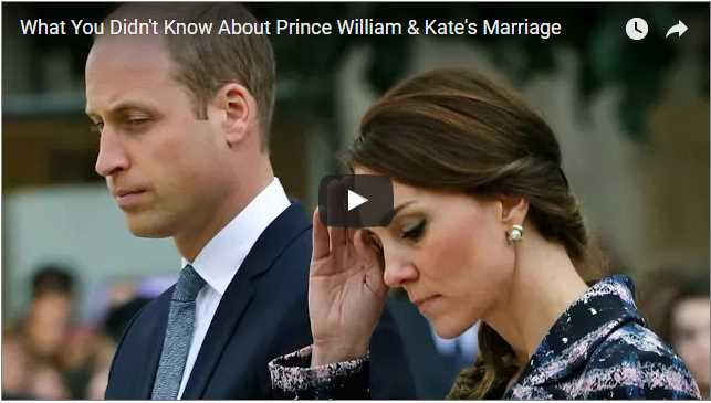 What You Didnt Know About Prince William Kates Marriage