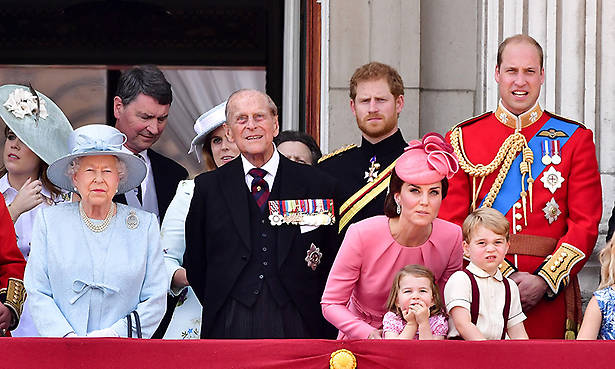 Why Prince Harry doesn't ride horseback at Trooping the Colour Photo (C) GETTY IMAGES