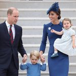 William and Kate pictured with children George and Charlotte in candid new family photo Photo C GETTY IMAGES