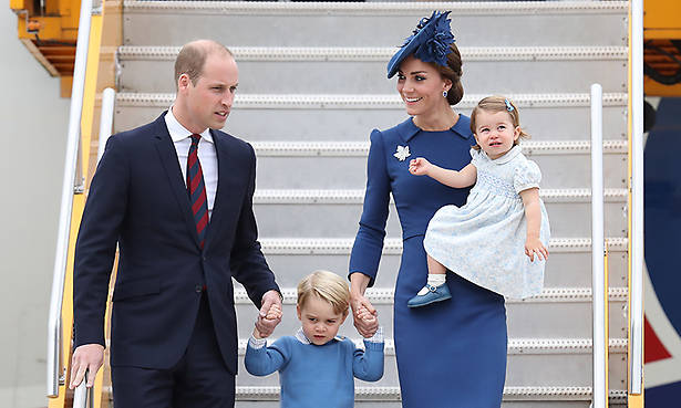 William and Kate pictured with children George and Charlotte in candid new family photo Photo (C) GETTY IMAGES