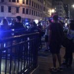 Witnesses by Monument Station near London Bridge Photo C EXPRESS
