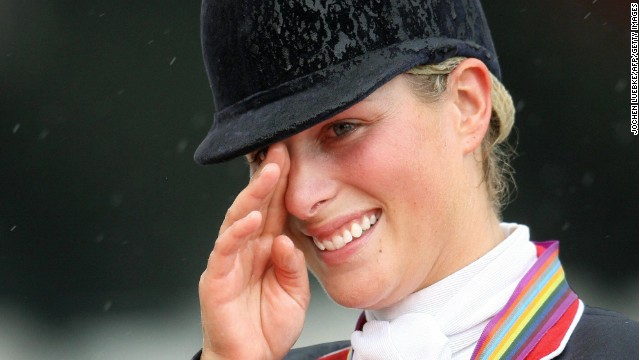 Zara Tindall is mourning the death of her favourite horse Toytown Photo C PA