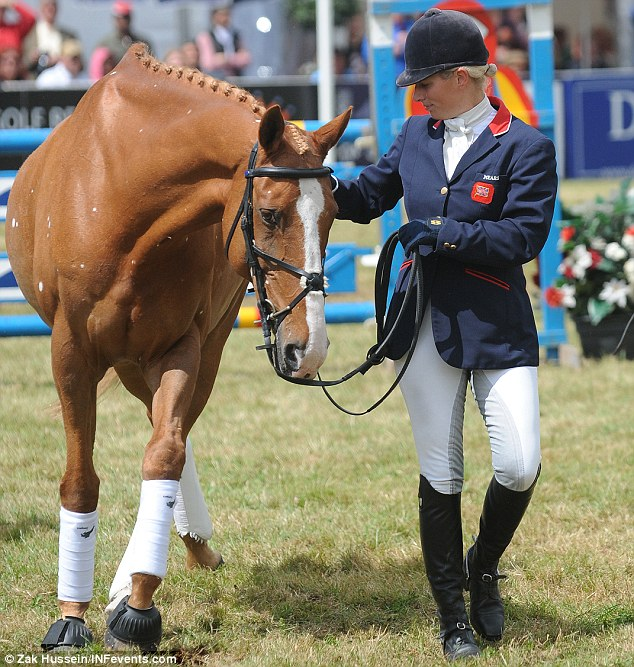 Zara Phillips Photo (C) GETTY IMAGES