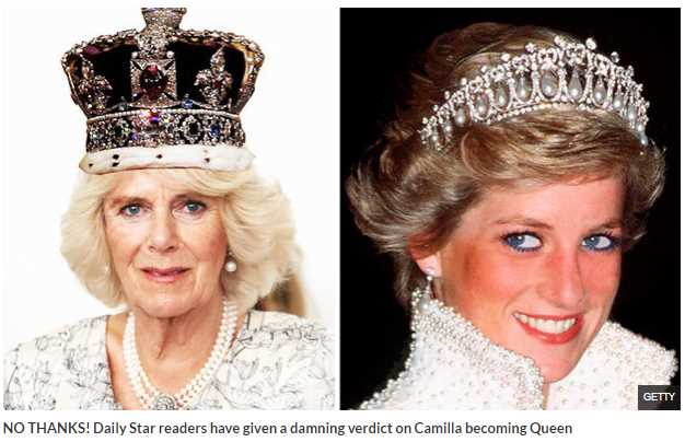 Final nail in Diana's coffin' Shock after Camilla to become Queen claims