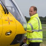 0 The Duke of Cambridge starts his final shift with the East Anglian Air Ambulance on July 27