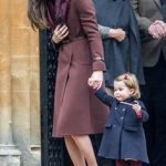 01 Prince George of Cambridge attends Church on Christmas Day on December 25 2016 in Bucklebury Berkshire Photo C GETTY IMAGES
