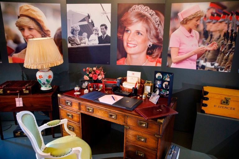 04 Prince William and Harry Recreated Dianas Desk in Her Honor and Its Full of Personal Photos Photo C GETTY IMAGES
