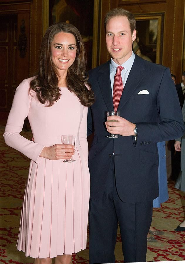 03 Prince William took his time introducing Kate to his granny Photo C GETTY IMAGES