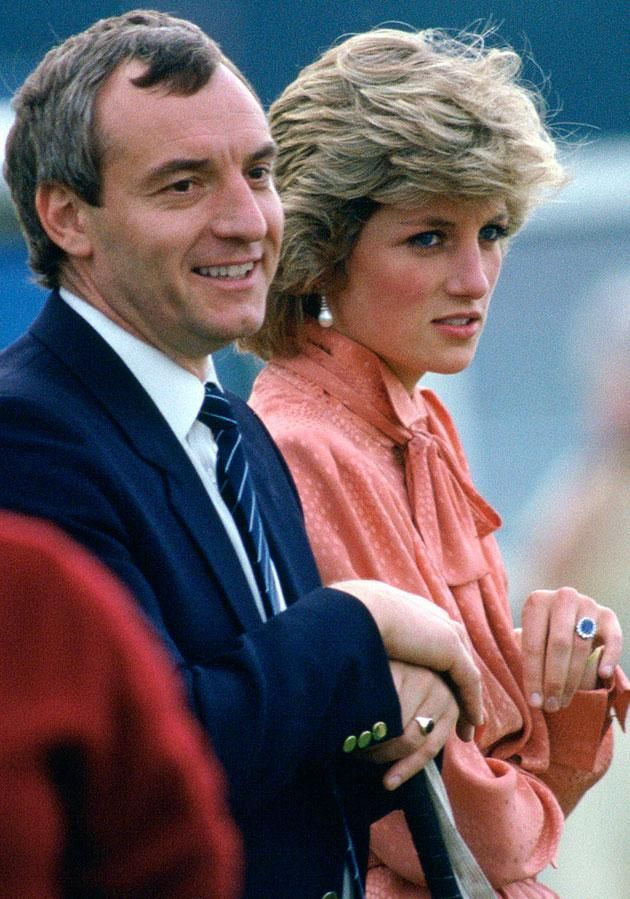 Tapes of the late Princess from 1993 reveal her love for Sergeant Barry Mannakee Photo (C) GETTY IMAGES