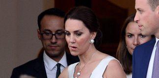 07 Kate Middleton Duchess of Cambridge and Prince William leave their residence in Warsaw Poland Photo C SplashNews