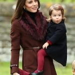 09 Prince George of Cambridge attends Church on Christmas Day on December 25 2016 in Bucklebury Berkshire