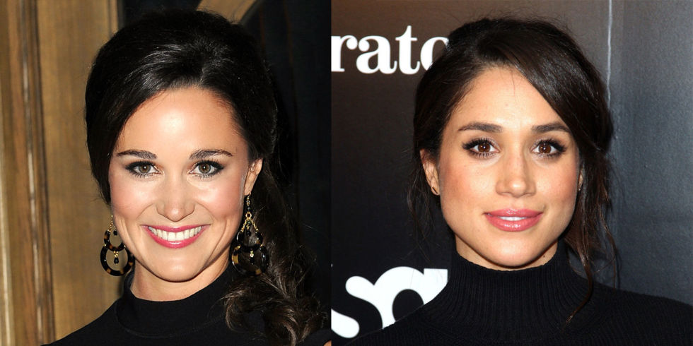 Pippa Middleton and Meghan Markle Photo (C) GETTY IMAGES