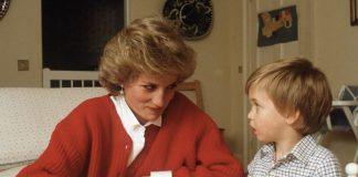 Prince William and Princess Diana Photo (C) GETTY IMAGES