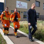 1 The Duke of Cambridge starts his final shift with the East Anglian Air Ambulance on July 27