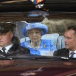 1 The Queen pictured on her way to the State Opening of Parliament Photo C GETTY IMAGES