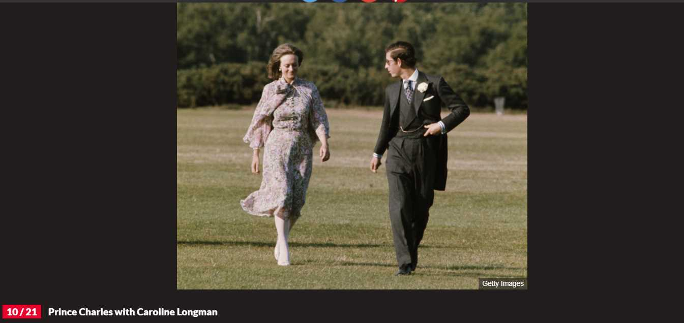 Princes Charles Girlfriend