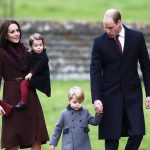 11 Prince George of Cambridge attends Church on Christmas Day on December 25 2016 in Bucklebury Berkshire