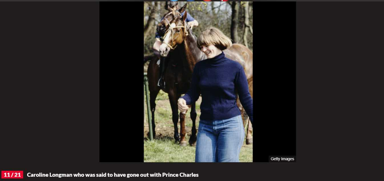 20 Princes Charles Girlfriend