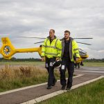 11 The Duke of Cambridge starts his final shift with the East Anglian Air Ambulance on July 27