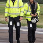 12 The Duke of Cambridge starts his final shift with the East Anglian Air Ambulance on July 27
