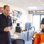 4 The Duke of Cambridge starts his final shift with the East Anglian Air Ambulance on July 27