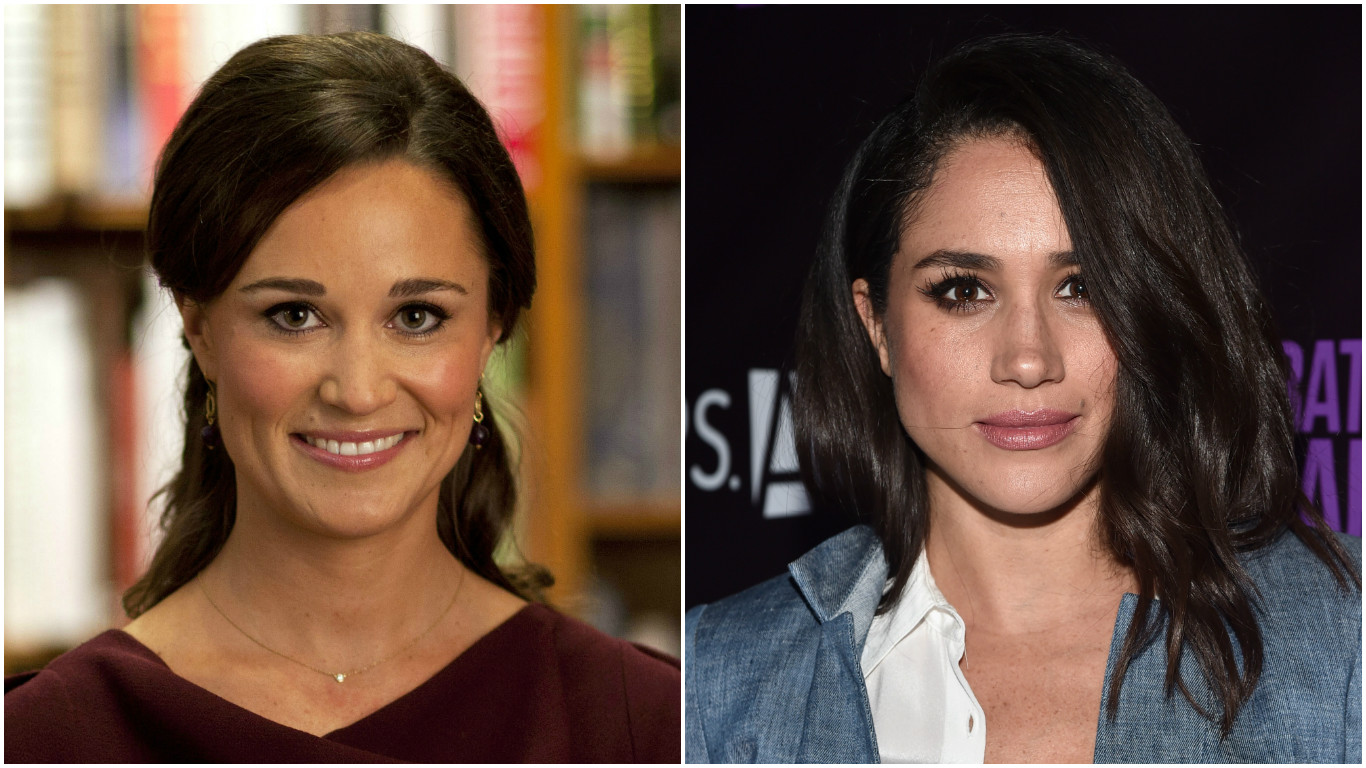 01 Meghan Markle How similar does Prince Harry's Suits girlfriend look to Pippa Middleton Photo C GETTY IMAGES