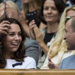 91 Duchess Kate looked to be having a wonderful time at the match. She wowed in a stunning summery white dress Photo C GETTY IMAGES