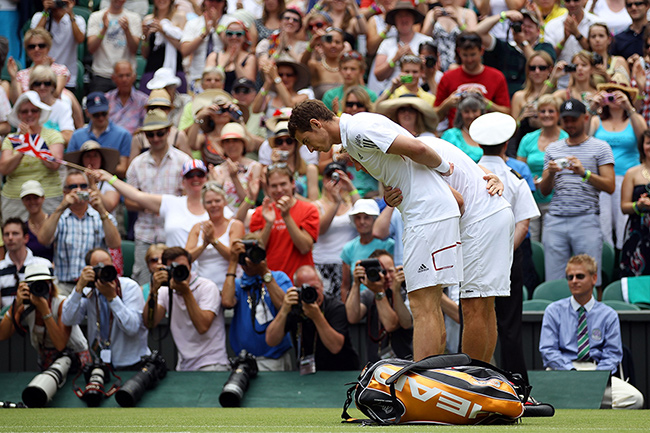 The Queens visit to Wimbledon in 2010 was her first in 33 years Photo C GETTY IMAGES