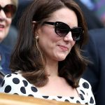 As the afternoon sun made an appearance Kate shielded her eyes from the glare with a pair of dark glasses