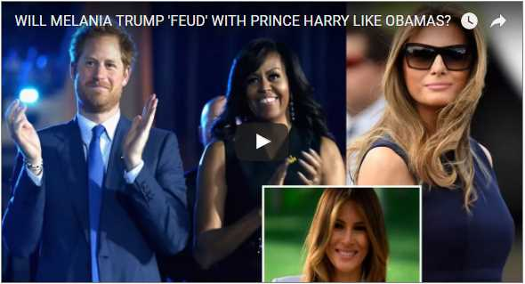 Breaking News Melania Trump to travel on her own and meet Prince Harry