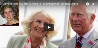 Camilla feels like she is living in the shadow of Princess Diana
