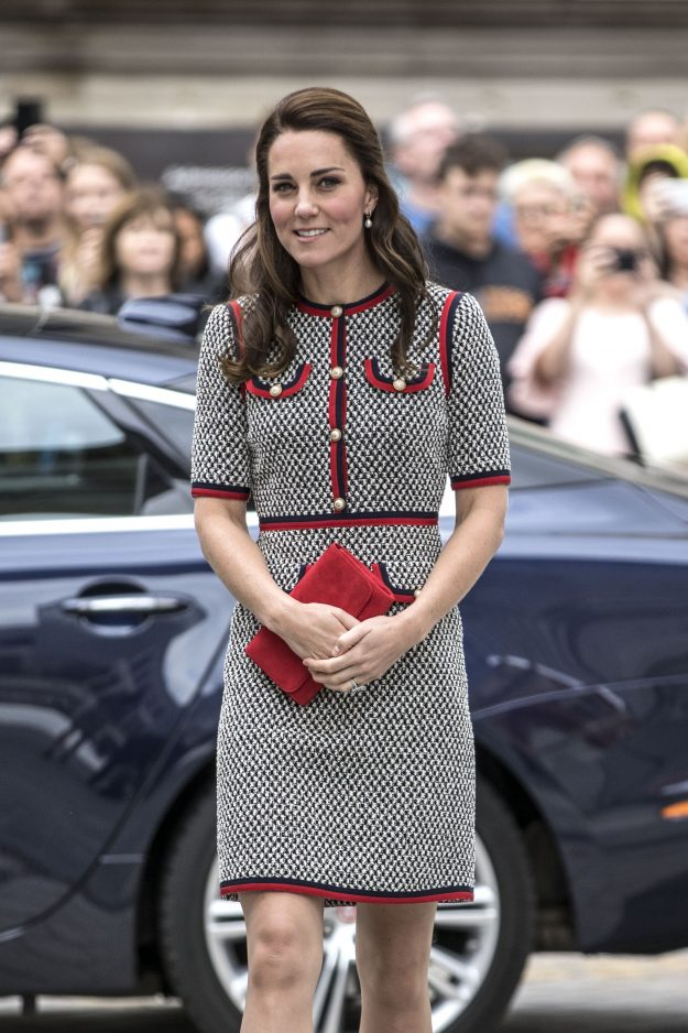 Can you believe people have compared Kate Middleton's knee to Casper the Friendly Ghost [Getty ]