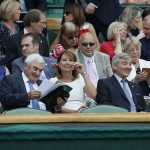 Carole and Michael Middleton at Wimbledon on Thursday Photo C GETTY IMAGES