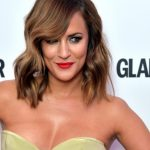Caroline Flack briefly linked to the Prince but said they were just friends Photo C GETTY IMAGES