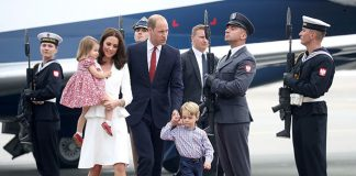 Catherine Duchess of Cambridge Prince William Prince George and Princess Charlotte Elizabeth Diana Photo C GETTY IMAGES