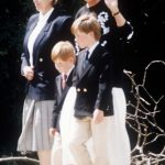 Diana wanted her sons to experience normal life Photo C REX FEATURES