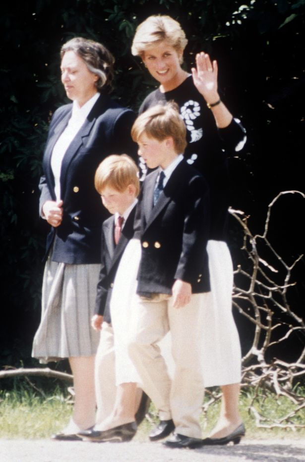 Diana wanted her sons to experience 'normal life' Photo (C) REX FEATURES