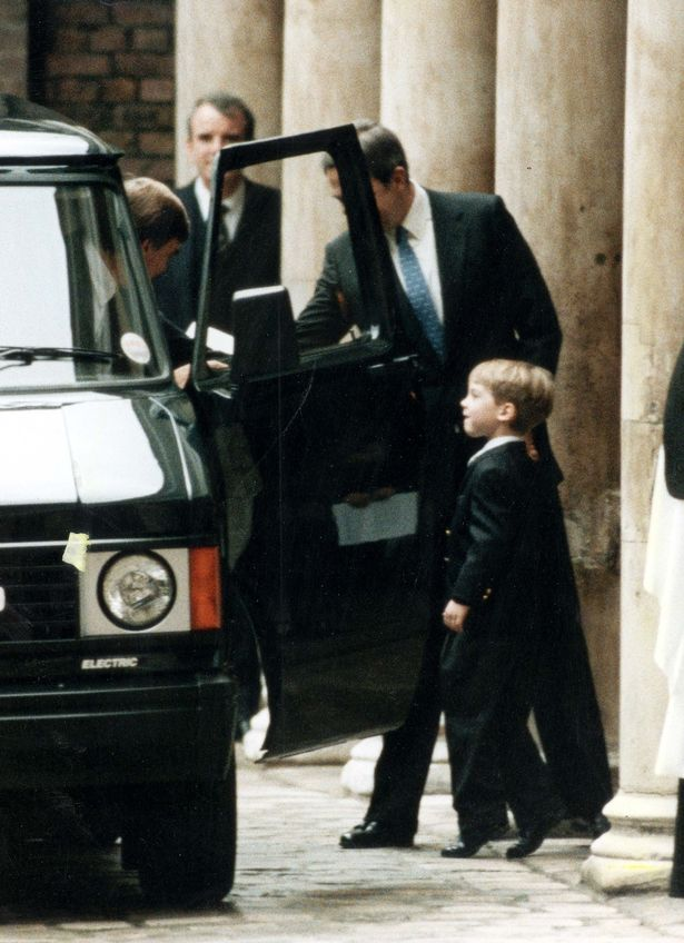Diana's personal protection officer described Harry as 'incorrigible' Photo (C) REX FEATURES