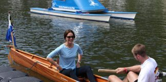 Duchess of Cambridge Kate decided to dress casual for the boat race Photo C PA