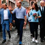 Duchess of Cambridge Kate explored the town centre of Heidelberg Photo C AFP GETTY